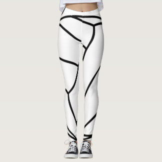 Super Cool Volleyball Leggings White or Your Color