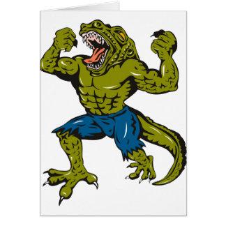 Super Croc Card