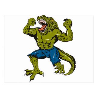 Super Croc Postcard