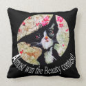 Super Cute black Cat, from PURRfect Collection, Pillows