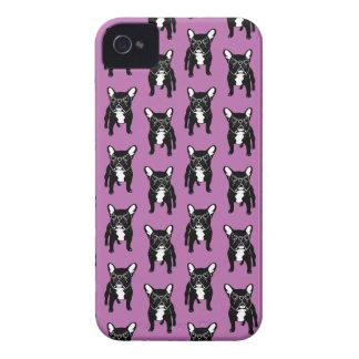 Super cute brindle French Bulldog Puppy Case-Mate iPhone 4 Case