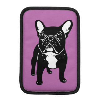 Super cute brindle French Bulldog Puppy iPad Mini Sleeve