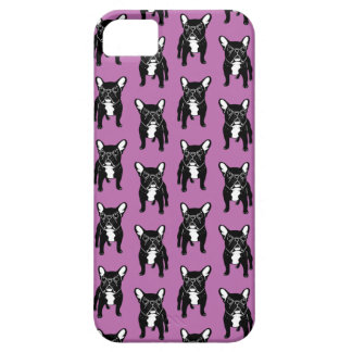 Super cute brindle French Bulldog Puppy iPhone 5 Cases