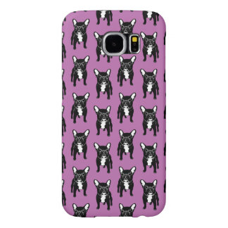 Super cute brindle French Bulldog Puppy Samsung Galaxy S6 Cases