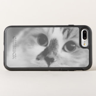 SUPER CUTE Cat Closeup Portrait Photograph OtterBox Symmetry iPhone 8 Plus/7 Plus Case