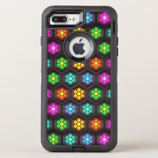Super Cute Flower Pattern OtterBox Defender iPhone 8 Plus/7 Plus Case