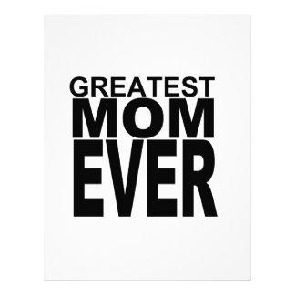 Super cute... Greatest Mom Ever Personalized Letterhead