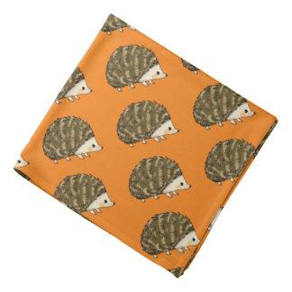 super cute hedgehog bandanna