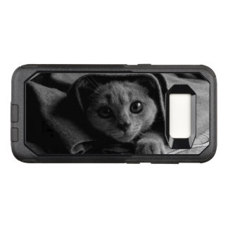 SUPER CUTE Kitten Portrait Photograph OtterBox Commuter Samsung Galaxy S8 Case