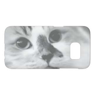 SUPER CUTE Kitten Portrait Photograph Samsung Galaxy S7 Case