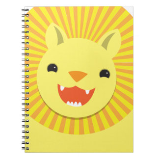 Super cute Lion face smiling! NP Notebooks
