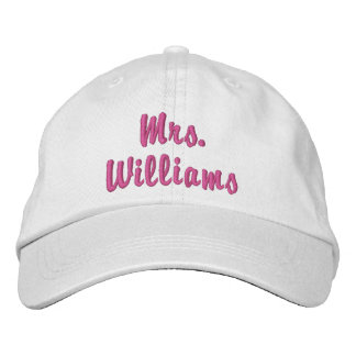 Super Cute Mrs. Embroidered Hat
