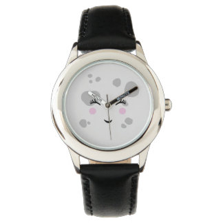Super Cute & Nerdy Smiling Moon Face Watch