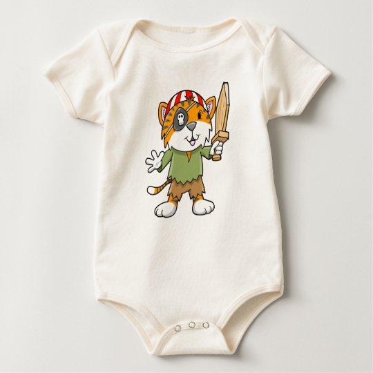 Super Cute Pirate Tiger Baby Creeper