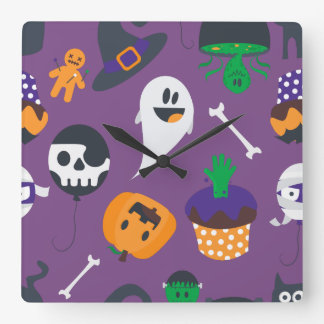 Super cute spooky Halloween wall clock