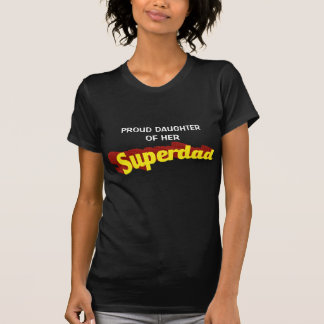 Super Dad dad is my superhero comic text T-Shirt