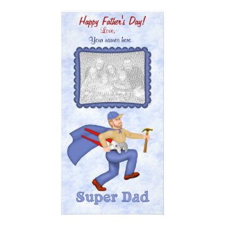 Super Dad Father s Day Photo Card