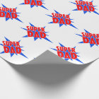 Super Dad Father's Day Gift Wrap