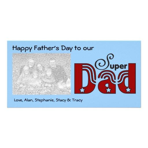 Super Dad Photo Cards
