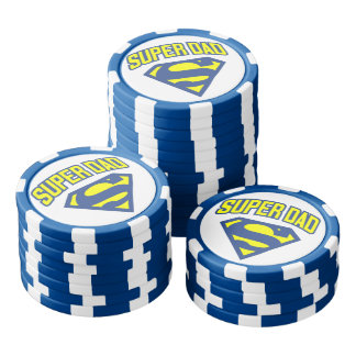Super Dad Poker Chips