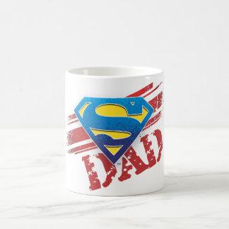 Super Dad Stripes Coffee Mug