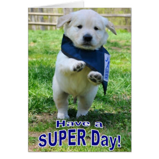 Super Day card