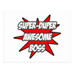 Super Duper Awesome Boss Post Card
