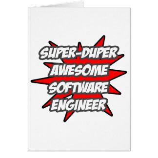 Super Duper Awesome Software Engineer Card
