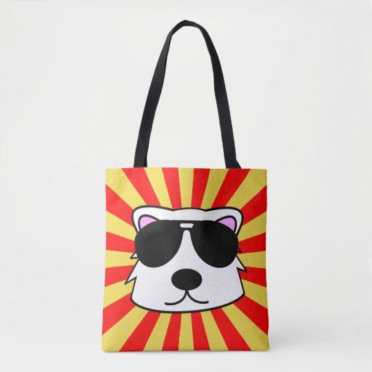 Super Duper Chill Bear Tote Bag