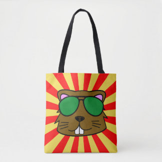 Super Duper Eager Beaver Tote Bag
