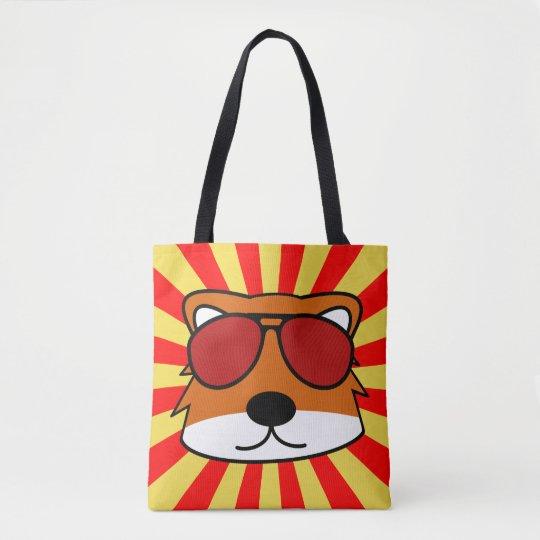 Super Duper Sly Fox Tote Bag