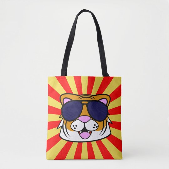 Super Duper Terrific Tiger Tote Bag