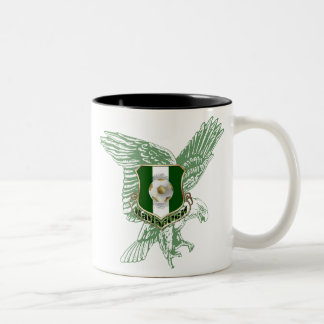 Super Eagles faded Eagle Naija soccer gifts Two-Tone Coffee Mug