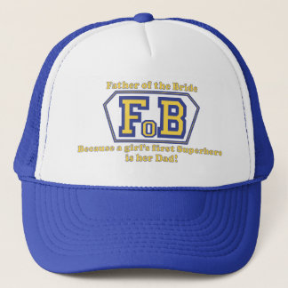Super Father of the Bride Trucker Hat