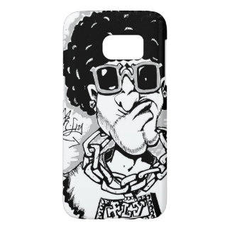 Super fly afro guy phone case
