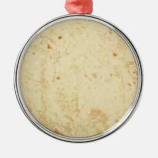 super fresh flour tortilla texture masa bueno metal ornament