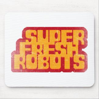 super fresh robots mouse pad