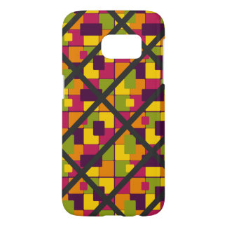 Super Funky Colorful Pattern Samsung Galaxy S7 Case