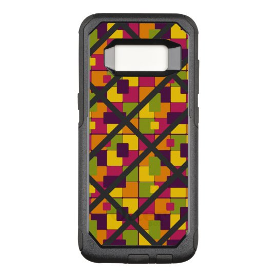 Super Funky Colourful Pattern OtterBox Commuter Samsung Galaxy S8 Case