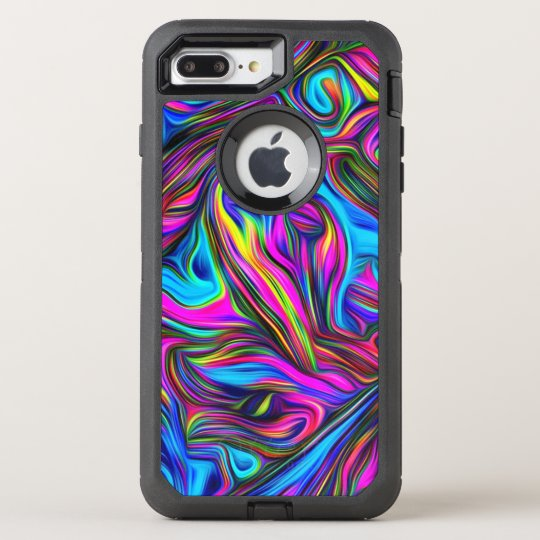 Super Funky Pattern OtterBox Defender iPhone 7 Plus Case