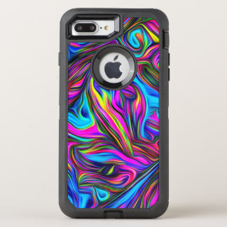 Super Funky Pattern OtterBox Defender iPhone 8 Plus/7 Plus Case