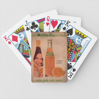 Super gifts vintage announcement refreshment bicycle playing cards