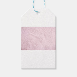 Super Girly PINK Marble Abstract Art Swirl! Gift Tags
