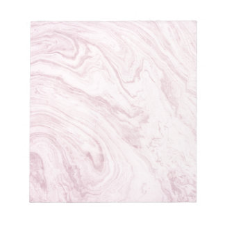 Super Girly PINK Marble Abstract Art Swirl! Notepad