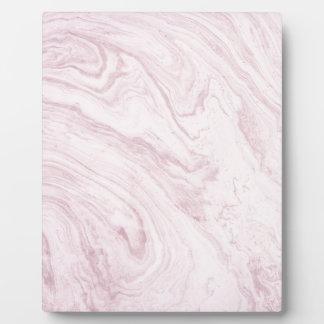 Super Girly PINK Marble Abstract Art Swirl! Plaque