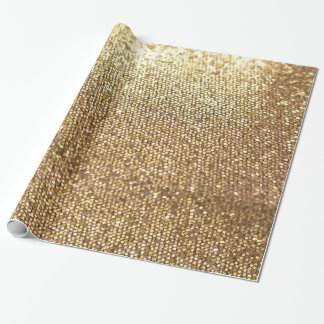 Super Gold Wrapping Paper