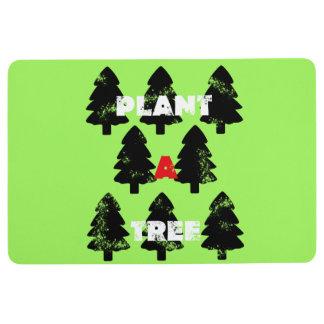 Super Green Plant A Tree Floor Mat