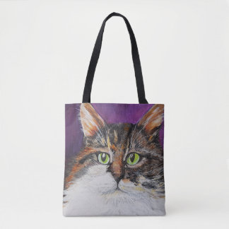 Super handsome Clyde the cat Tote Bag