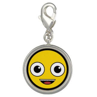 Super Happy Face Photo Charms