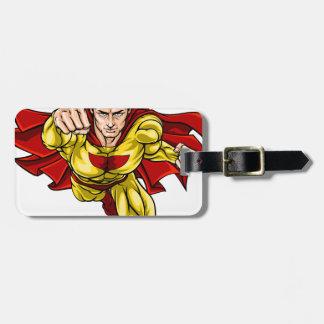 Super Hero Bag Tag